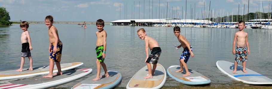 Kids on Surfboards near Dallas, TX