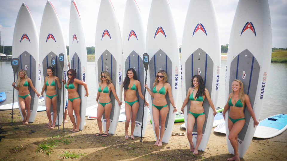Dallas Stars Girls at DFW Surf