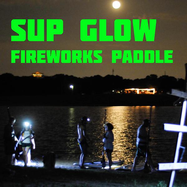 SUP Glow Fireworks