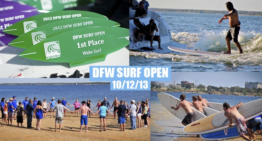 DFW Surf Open Wakesurfing Competition