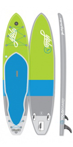 Yolo Board Inflatable 12 Foot Green-Blue 2016