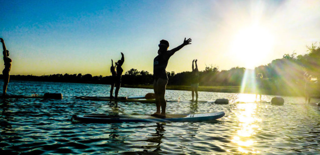 Sunsets SUP Yoga with Tina Lopez