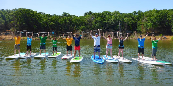 Paddleboarding Classes and SUP Rentals DFW Lakes