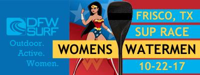Womens Watermen SUP Race Frisco TX