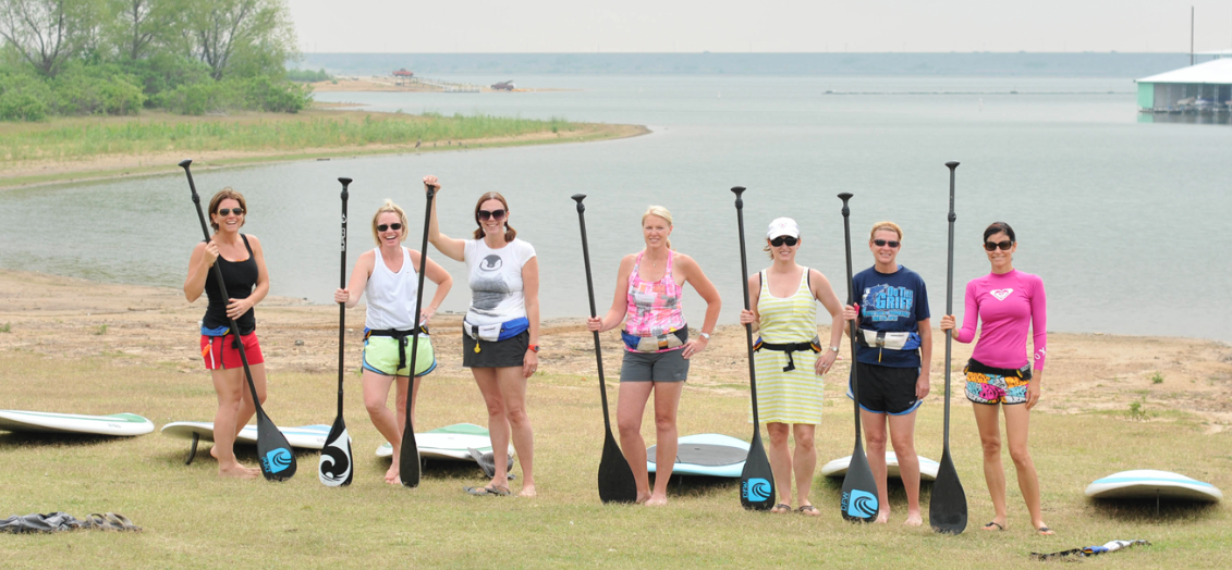Flower Mound Womens Paddleboard Meetup Group
