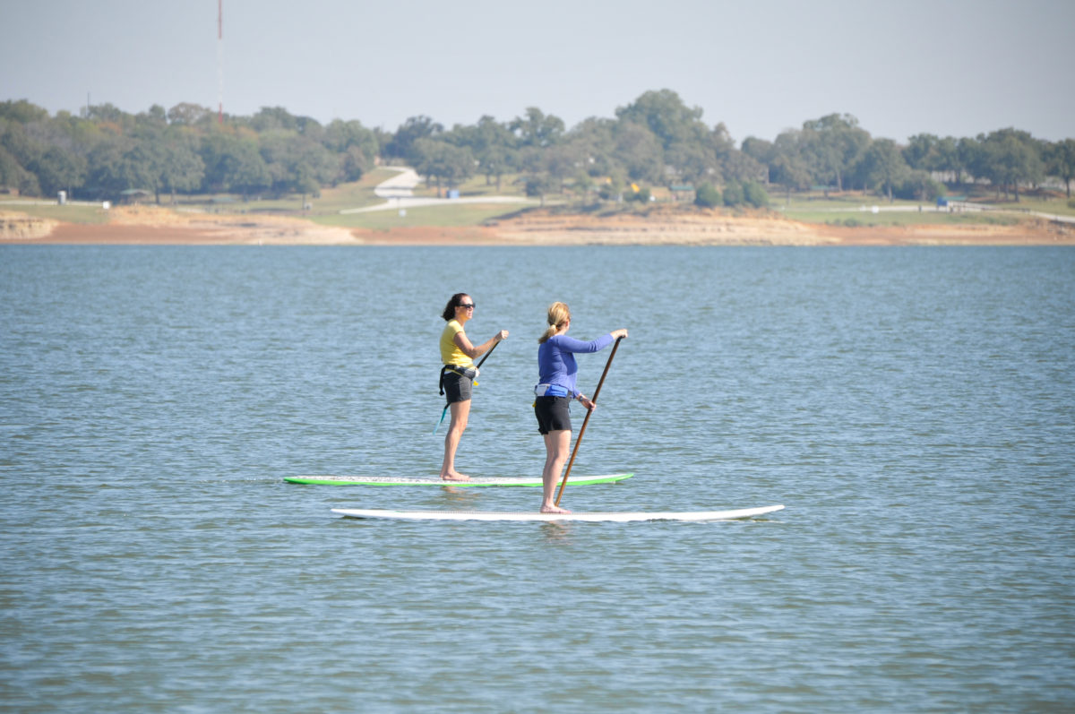 Trophy Club TX Paddle boarding classes