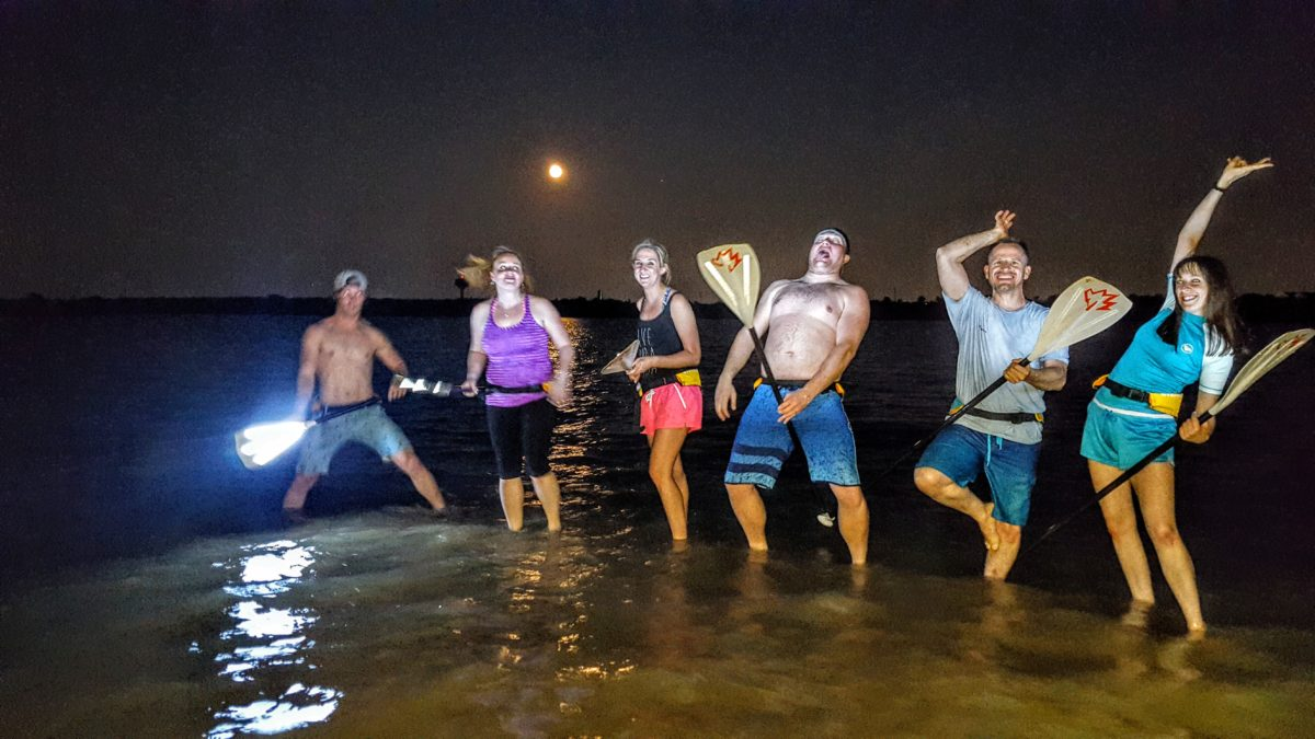 SUP Glow paddleboard tours