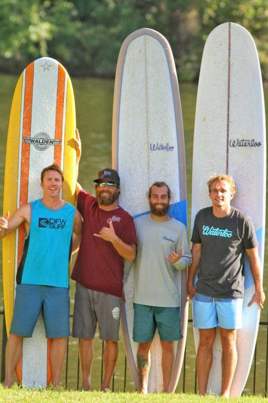 Barrel Boss longboarding contest 2016 with Tyler Marshall, Todd Johnson, Bubba Gainan and Alec Wood