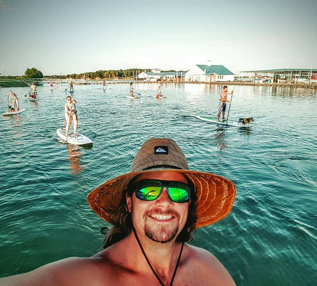 Dingo the Dude and his weekly SUP Tours at Hidden Cove Park and Marina