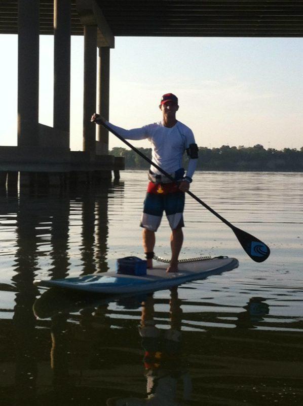 Brian Sevarance Lakeside Paddle