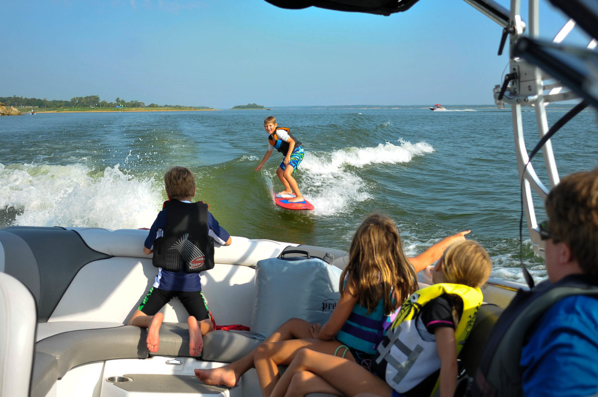 Perry Morrison and Grapevine Lake summer surf camps