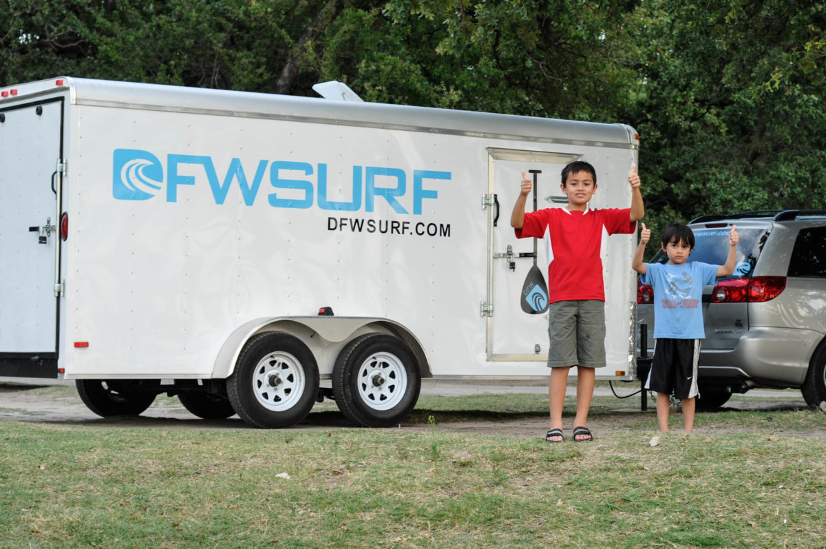 DFW Surf Fort Worth with Brian Severance and Family