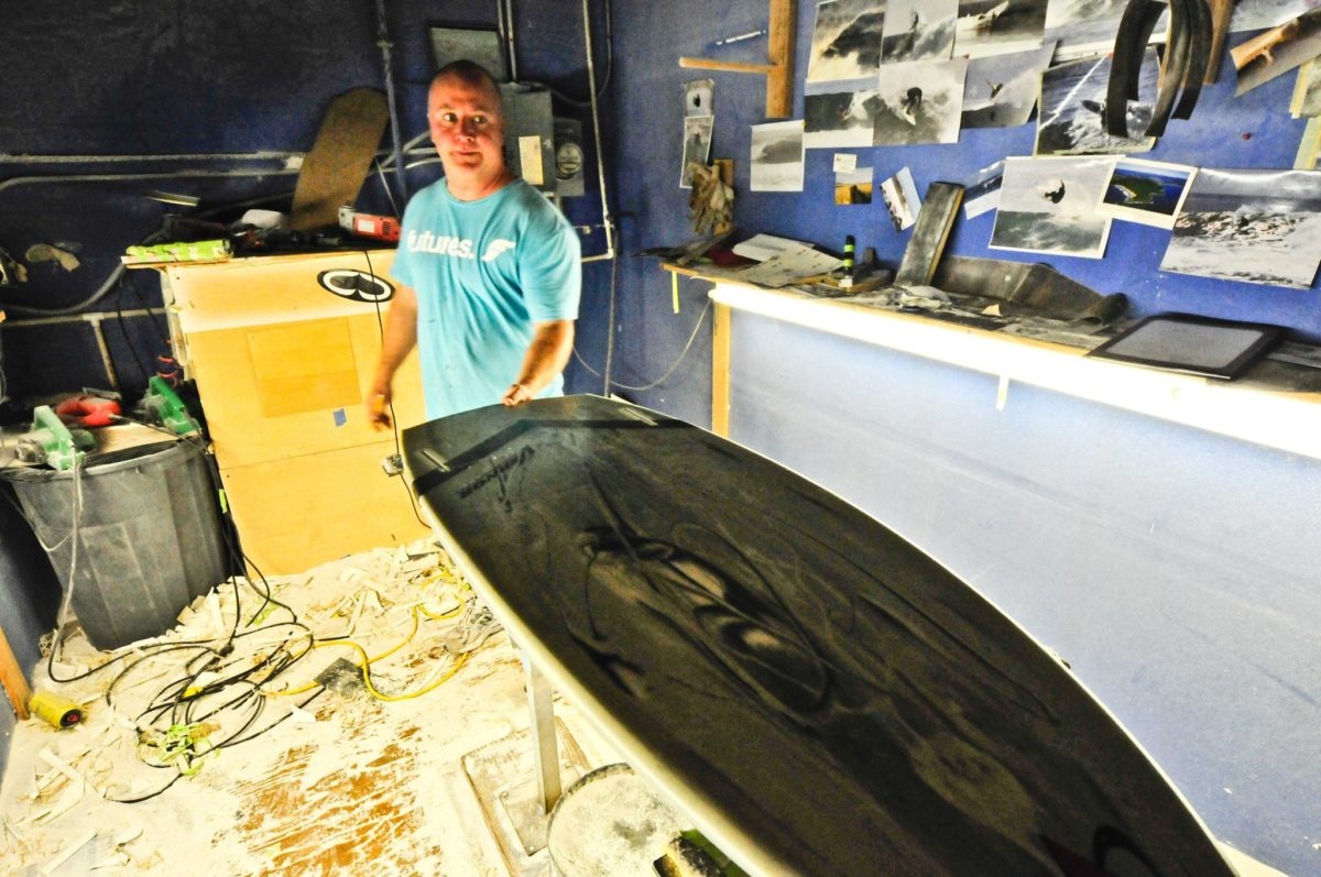 David Vernor and the DFW Surf Comp