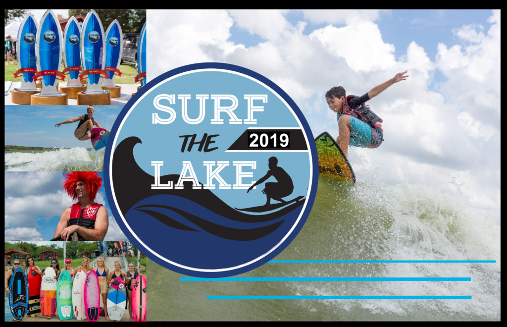 Surf The Lake Wakesurfing Contest in North Texas on Lake Lewisville
