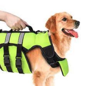 Dog Life Jacket Grab Handle for paddleboarding